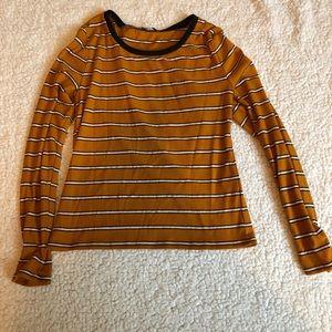 Yellow/orange long sleeve tee